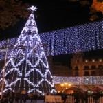 La plaza de la Navidad. Turismo Valencia