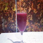 Sorbete de Zurracapote elaborado con vino melocotn canela y azcarhellip